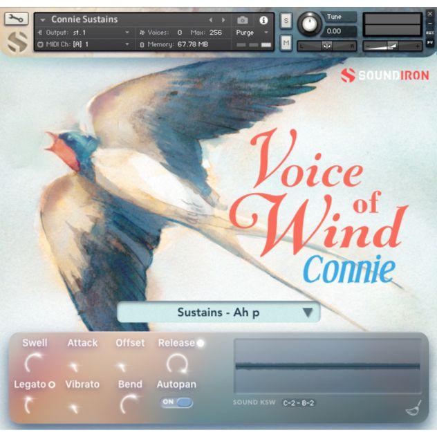 SOUNDIRON/VOICE OF WIND: CONNIE【オンライン納品】