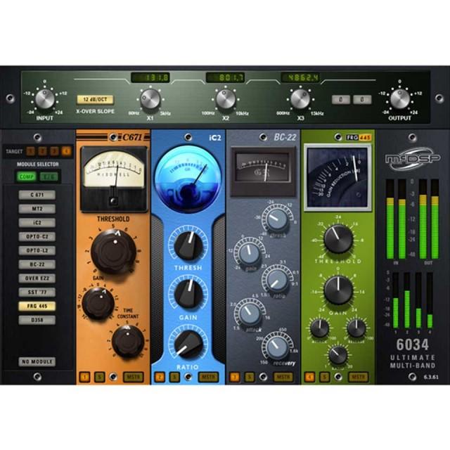 McDSP/6034 Ultimate Multi-band HD v6【オンライン納品】【在庫あり】