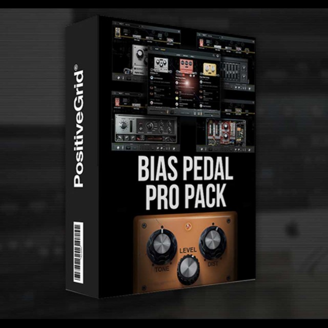 Positive Grid/BIAS Pedal Pro Pack【オンライン納品】