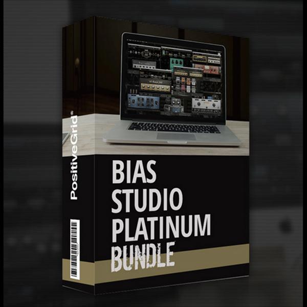 Positive Grid/BIAS Studio Platinum【オンライン納品】【~8/9 期間限定特価キャンペーン】