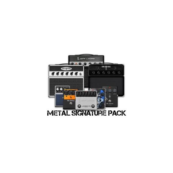 Positive Grid/BIAS FX Metal Signature Pack【オンライン納品】【Positive Grid ソフトウエアキャンペーン】