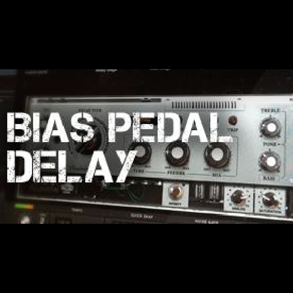 Positive Grid/BIAS Pedal Delay Desktop【オンライン納品】【Black Fridayキャンペーン】