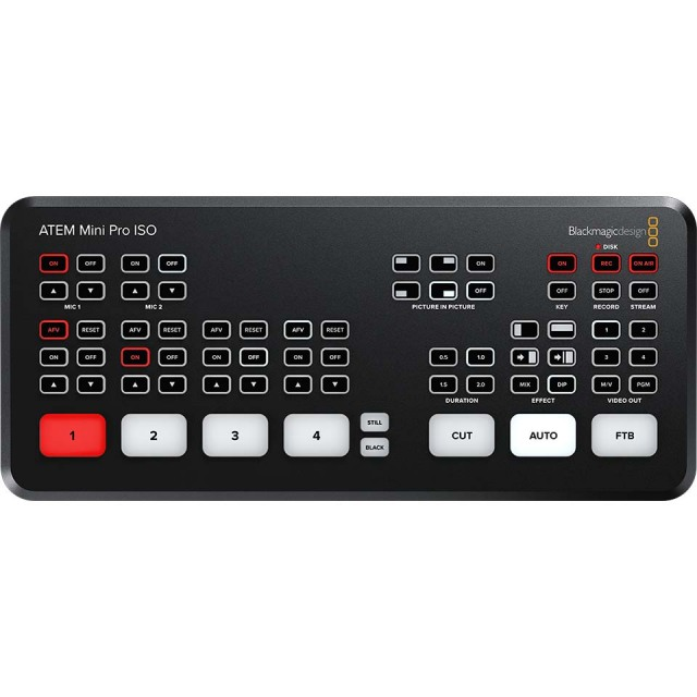Blackmagic Design/ATEM Mini Pro ISO【在庫あり】