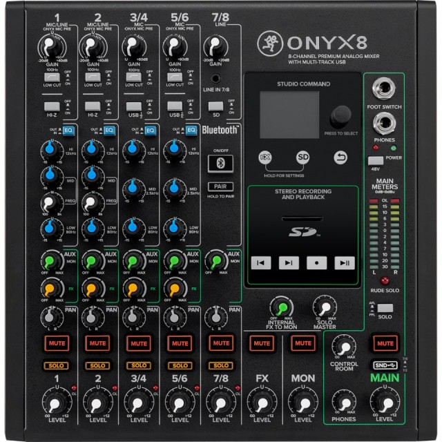 Mackie/Onyx8