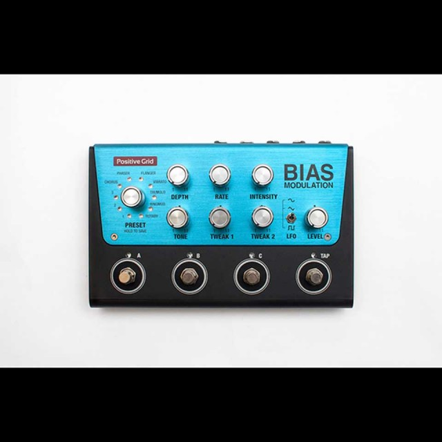 Positive Grid/BIAS Modulation【Black Fridayキャンペーン】【BIAS FX Desktopプレゼント!】