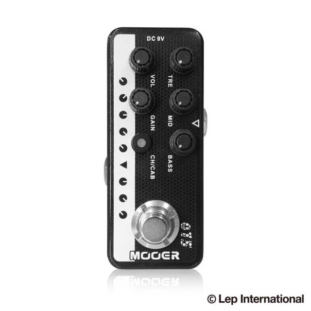 MOOER/Micro Preamp 015 Brown Sound【在庫あり】【送料無料】