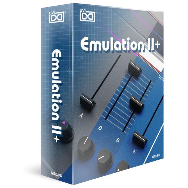 UVI/Emulation II+【オンライン納品】