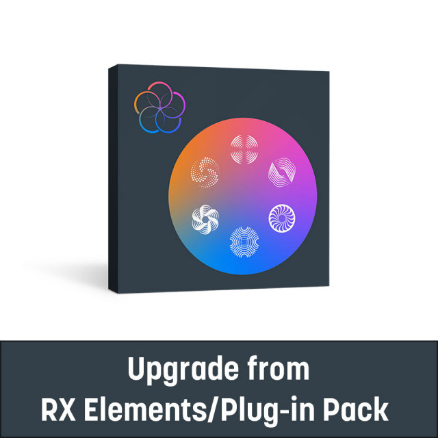 iZotope/RX Post Production Suite 6 upgrade from RX Elements/Plug-in Pack【~10/31 期間限定特価キャンペーン】【オンライン納品】