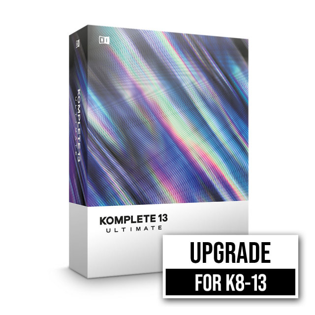 Native Instruments/KOMPLETE 13 ULTIMATE UPG FOR K8-13【在庫あり】