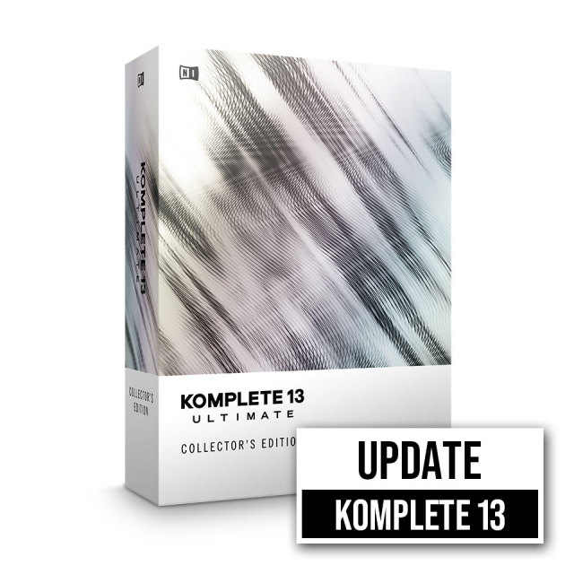 Native Instruments/KOMPLETE 13 ULTIMATE Collector's Edition UPD【在庫あり】