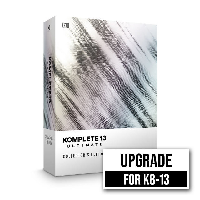 Native Instruments/KOMPLETE 13 ULTIMATE Collector's Edition UPG FOR K8-13【在庫あり】