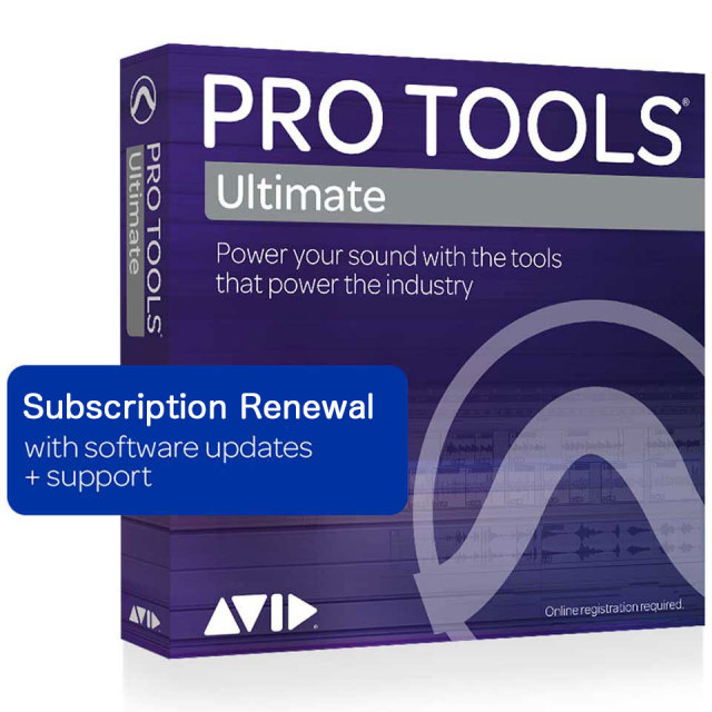 Avid/Pro Tools   Ultimate 1-Year Subscription Renewal【サブスクリプション更新版】【オンライン納品】【在庫あり】