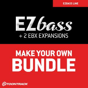 TOONTRACK/EZ BASS BUNDLE【オンライン納品】【在庫あり】