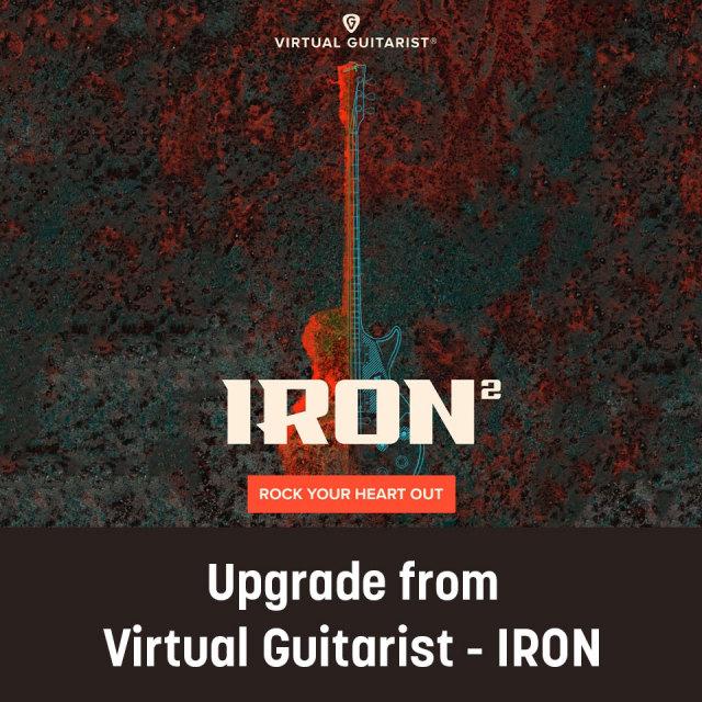 UJAM/VIRTUAL GUITARIST - IRON 2 Upgrade from IRON【数量限定特価キャンペーン】【オンライン納品】【在庫あり】