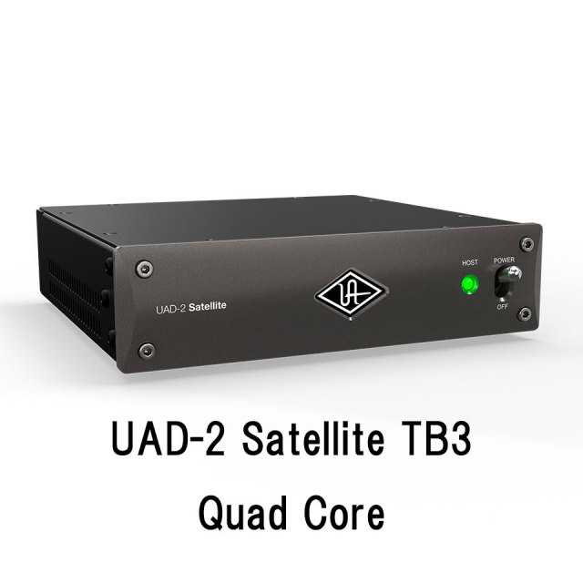 UNIVERSAL AUDIO/UAD-2 Satellite TB3 Quad Core