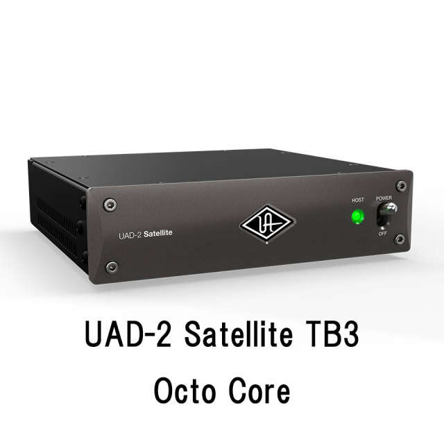 UNIVERSAL AUDIO/UAD-2 Satellite TB3 Octo Core