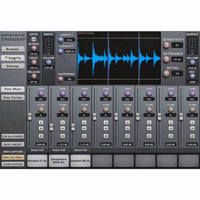 Steven Slate Audio/Trigger 2【数量限定特価キャンペーン】【オンライン納品】【定番】【在庫あり】