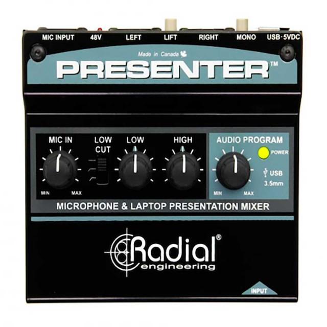 Radial/Presenter