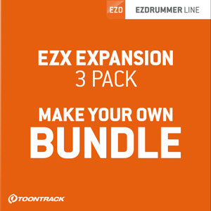 TOONTRACK/EZX BUNDLE - VALUE PACK【オンライン納品】【在庫あり】