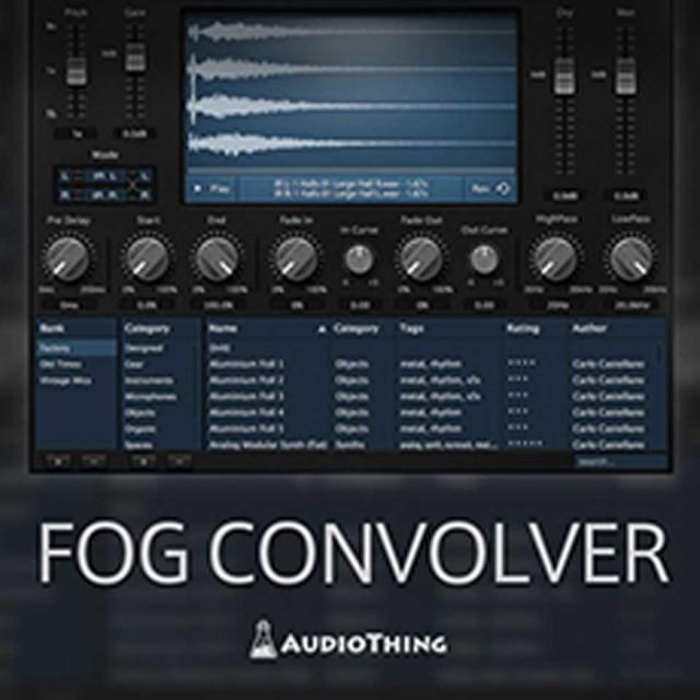 Audio Thing/FOG CONVOLVER【オンライン納品】【在庫あり】