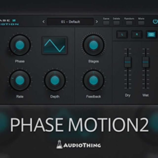 Audio Thing/PHASE MOTION 2【~4/30 期間限定特価キャンペーン】【オンライン納品】【在庫あり】