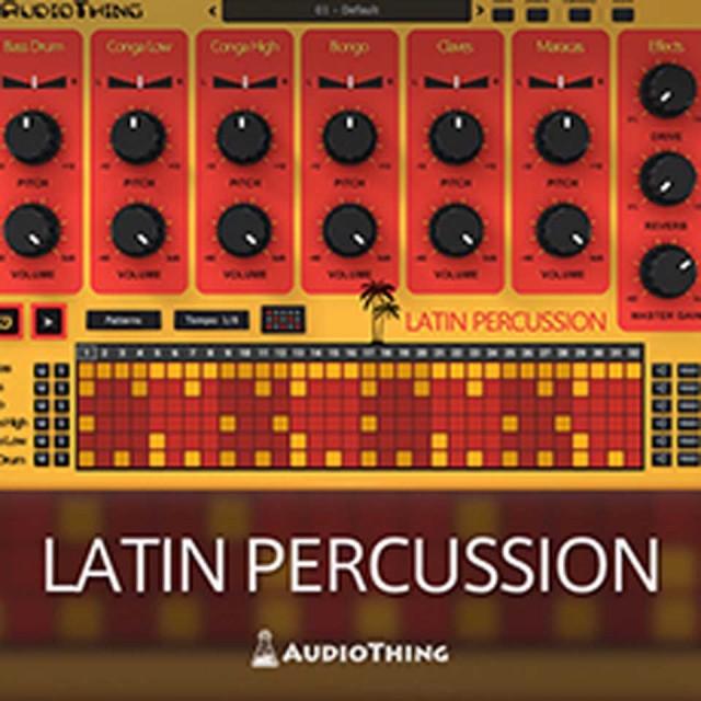 Audio Thing/LATIN PERCUSSION【オンライン納品】【在庫あり】