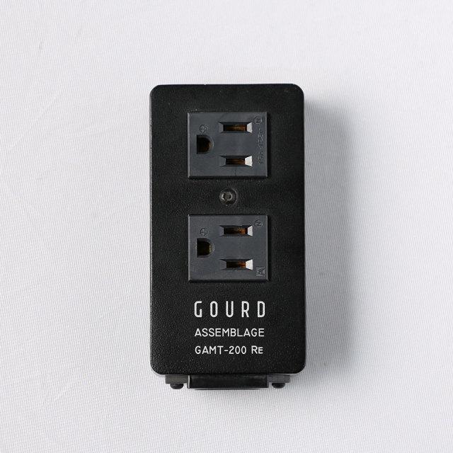 GOURD/ASSEMBLGE GAMT-200Re 2口電源タップ