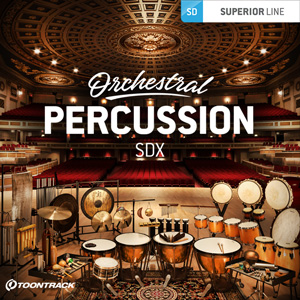 TOONTRACK/SDX - ORCHESTRAL PERCUSSION【オンライン納品】【在庫あり】