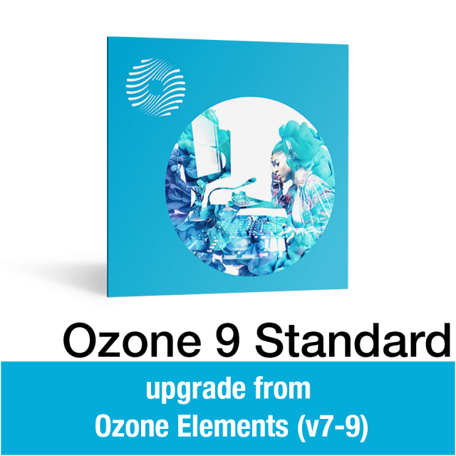 iZotope/Ozone 9 Standard: upgrade from Ozone Elements (v7-9)【オンライン納品】