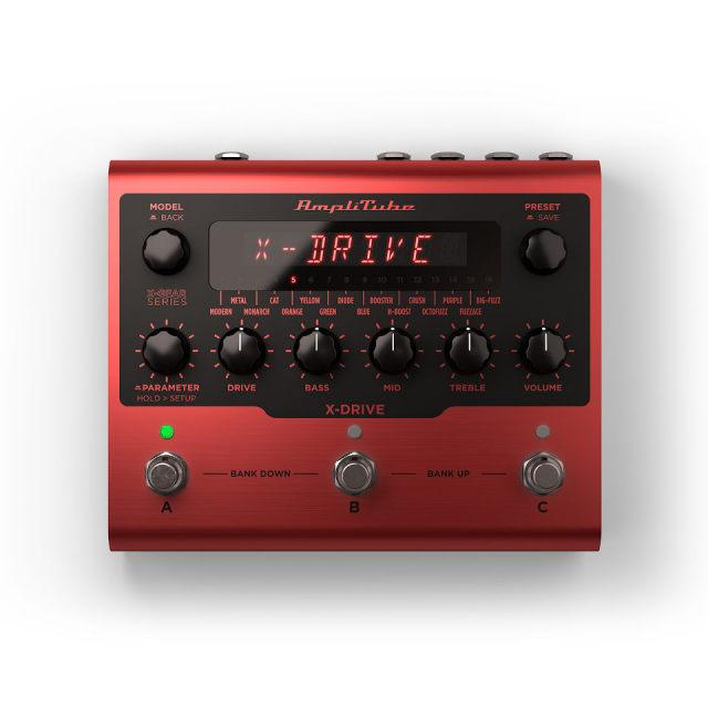 IK Multimedia/AmpliTube X-DRIVE【ソフトウェア版】【オンライン納品】