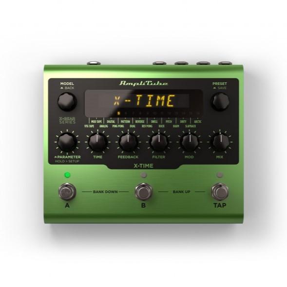 IK Multimedia/AmpliTube X-TIME【ソフトウェア版】【オンライン納品】