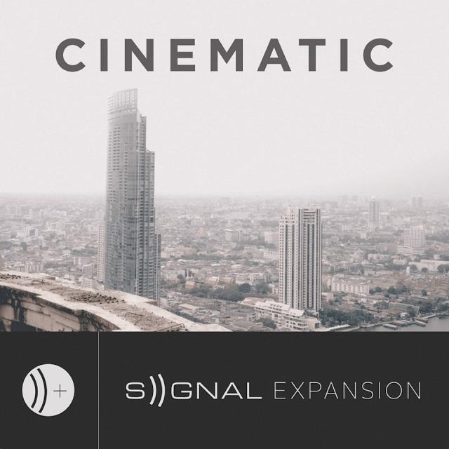 OUTPUT/CINEMATIC - SIGNAL EXPANSION【~8/16 期間限定特価キャンペーン】【オンライン納品】【在庫あり】