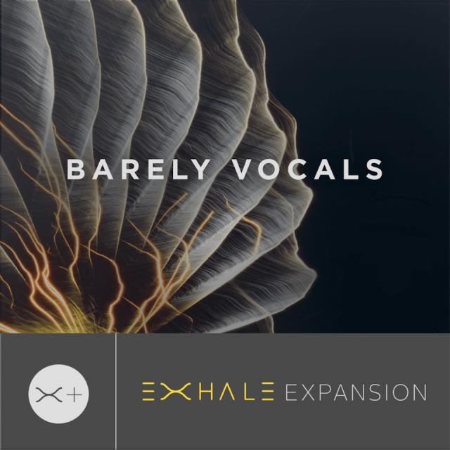 OUTPUT/BARELY VOCALS - EXHALE EXPANSION【~8/16 期間限定特価キャンペーン】【オンライン納品】【在庫あり】