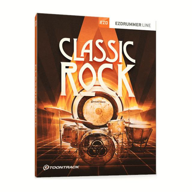 TOONTRACK/EZX - CLASSIC ROCK【オンライン納品】【在庫あり】