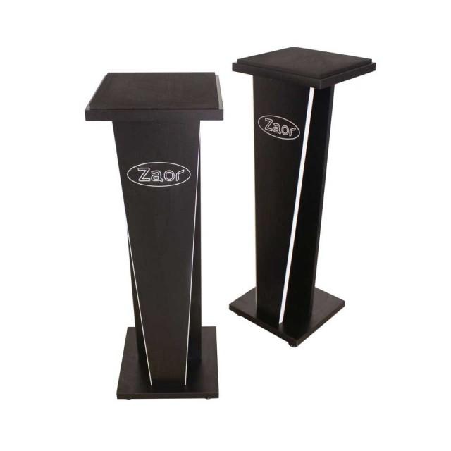 Zaor Studio Furniture/MIZA V-Stand V36 (pair) Black