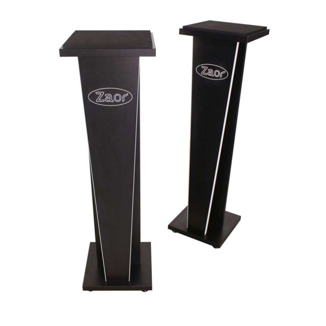 Zaor Studio Furniture/MIZA V-Stand V42 (pair) Black