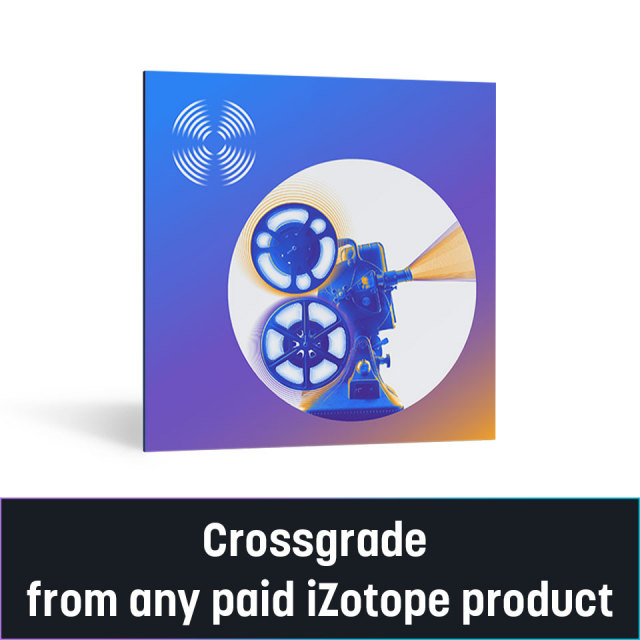 iZotope/RX 9 Standard Crossgrade from any paid iZotope product【~10/31 期間限定特価キャンペーン】【オンライン納品】