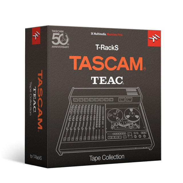 IK Multimedia/T-RackS TASCAM Tape Collection【期間限定特価キャンペーン】【オンライン納品】
