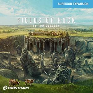 TOONTRACK/SDX - FIELDS OF ROCK【オンライン納品】【在庫あり】