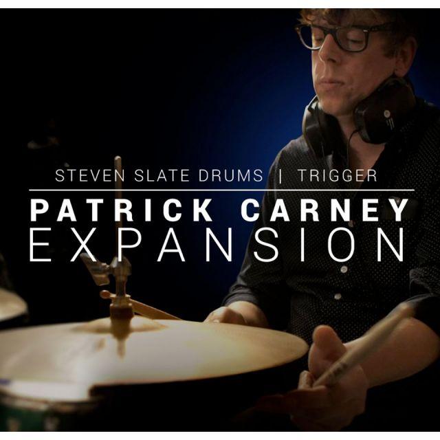 Steven Slate Audio/Patrick Carney EXPANSION for SSD5 & Trigger2【オンライン納品】