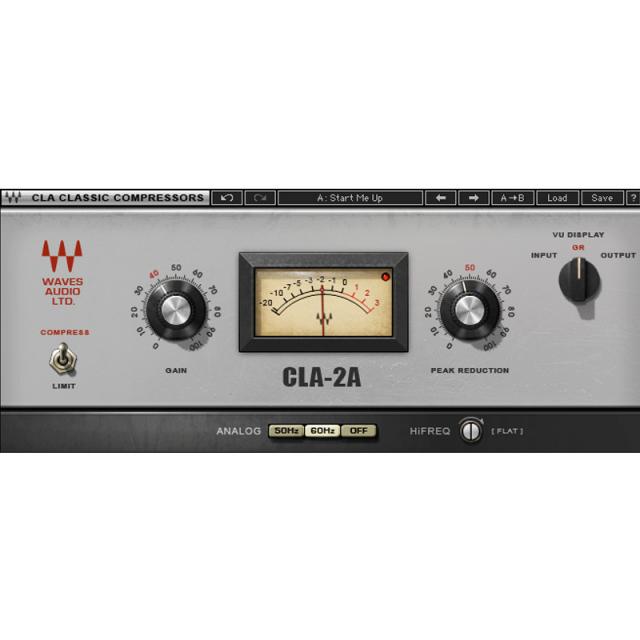 Waves/CLA-2A Compressor/Limiter【期間限定キャンペーン】【オンライン納品】【在庫あり】