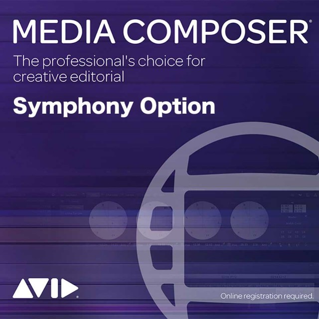 Avid v/Media Composer Perpetual | Symphony Option【永続ライセンス】【オンライン納品】