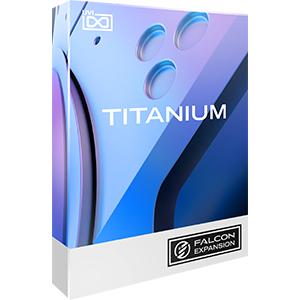 UVI/Titanium for Falcon 2【FALCON専用拡張パック】【オンライン納品】
