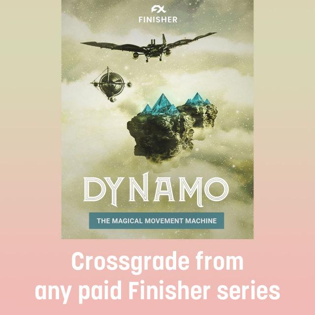 UJAM/FINISHER DYNAMO 【クロスグレード版】【オンライン納品】【~10/31 期間限定特価キャンペーン】