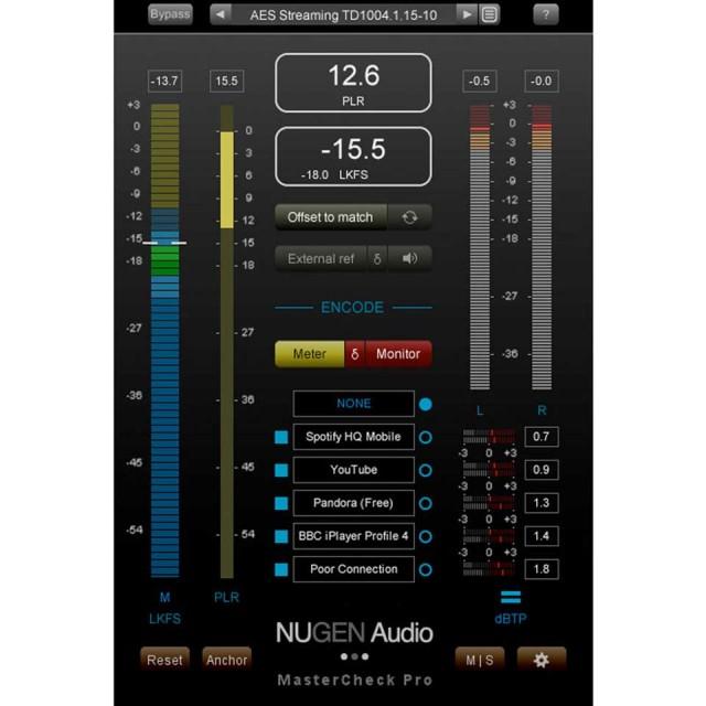 Nugen Audio/MasterCheck Pro【オンライン納品】【数量限定キャンペーン】【在庫あり】