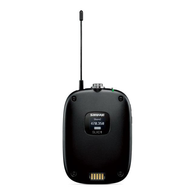 SHURE/SLXD1 ボディーパック型送信機-TQGコネクター