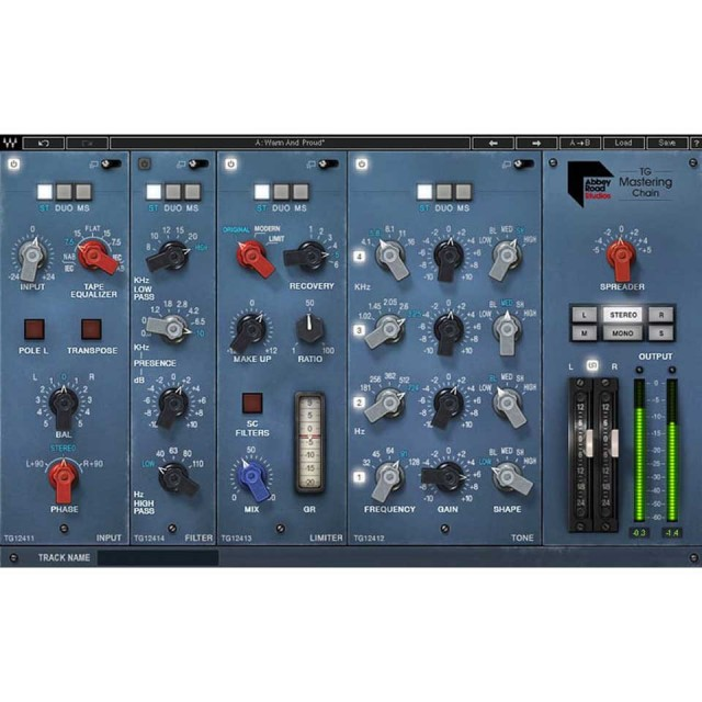 Waves/Abbey Road TG Mastering Chain【期間限定特価キャンペーン】【オンライン納品】【在庫あり】