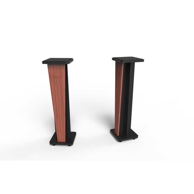 Zaor Studio Furniture/Croce Stand 42 (pair) Cherry/Black【受発注品】