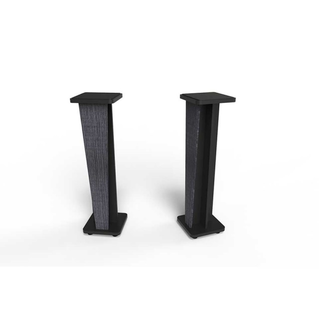 Zaor Studio Furniture/Croce Stand 42 (pair) Jungle Grey/Black【受発注品】