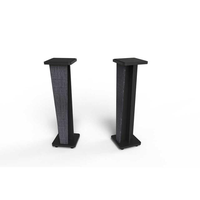 Zaor Studio Furniture/Croce Stand 42 (pair) Jungle Grey/Black【受発注品】